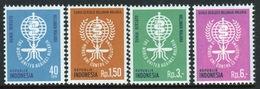 Indonesia 1962 Set Of Stamps Issued To Celebrate Malaria Eradication - Indonesia