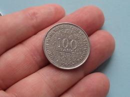 1969 Afrique Ouest Africaine - 100 Franc ( KM 4 ) Uncleaned ! - Autres – Afrique