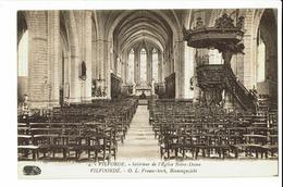 CPA - Carte Postale - Belgique - Vilvoorde- Intérieur De L'Eglise Notre Dame- S1417 - Vilvoorde