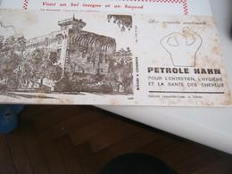 BUVARD PUBBLICITARIA PETROLE HAHN - Gas, Garage, Oil