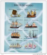 Angola-1999-Voiliers Et Bateaux-1320/27***MNH - Angola