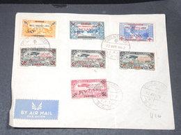 LEVANT - Série P.A.et Timbres Postes Forces Françaises Libres Sur Enveloppe En 1942  - L 20611 - Cartas