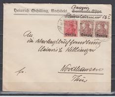 Danzig Lot 11 INFLA-Briefe Aus Jahren 1920 Bis 1923 Mit EF,MeF Und MiF In Unterschiedlicher Bedarfserhaltung - Dantzig