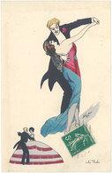 Cpa Illustrateur - Xavier Sager – La Valse ( B.G. Paris 574) - Sager, Xavier