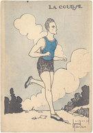Cpa Illustrateur - J.Robert - La Course - Edité Par Le Comité National Des U.C.J.G. - Robert