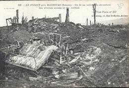 SOMME - 80 - LE FOREST Près MAUREPAS - Guerre 14 - Lit Dans Les Ruines - France
