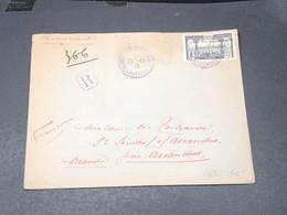 CAMEROUN - Enveloppe En Recommandé Et En FM Pour Avranches En 1915 - L 20619 - Cameroun (1915-1959)