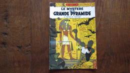 CARTE POSTALE  BLAKE ET MORTIMER LE MYSTERE DE LA PYRAMIDE LE PAPYRUS DE MANETHON   JACOBS - Blake Et Mortimer