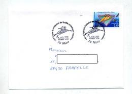 Lettre Fdc 1992 Niort Congres - FDC