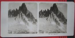 Stereofoto: Italien Südtirol Sexten / Sesto (BZ) - Paternkofel - Stereoscopio