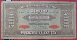 50000 Marek 1922 (WPM 33) - Polen