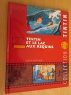 TIN718 BD Cartonné Petit Format A5 , TINTIN HERGE FILM LE LAC AUX REQUINS , 2010 Env 16 Page Sur La Réalisation Du DVD - Hergé