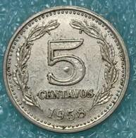 Argentina 5 Centavos, 1958 - Argentina