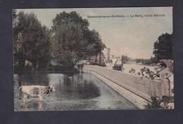 Vente Immediate Savonnieres En Perthois (55) La Mare Route D' Aulois ( Aulnois ) ( Animée Toilée Ed. Paulus) - France