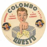 Giovanni Colombo Pavia - Questo - Il Vostro Formaggio - Cheese Label - Cheese
