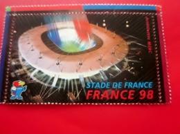 1998 Timbre Neuf ** MNH Vignette Du Stade De France De Football  France Champion Du Monde Erinnophilie Sport Futball - Commemorative Labels