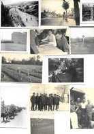 LOT 12  PHOTOS D  EPOQUE   1940 / 1944 SOLDATS ALLEMANDS PRINCIPALEMENT  EN FRANCE - 1939-45