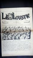 Le Loustic N°1 - 26 Septembre 1885 - Journal Hebdo Comique Satirique - 1850 - 1899
