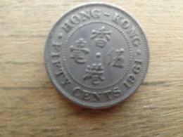 Hong-kong  50 Cents  1961  Km 30 - Hong Kong