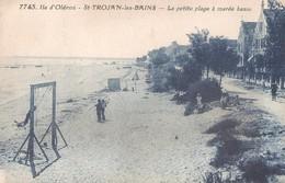 SAINT TROJAN Les BAINS - La Petite Plage - Jeux - Ile D'Oléron