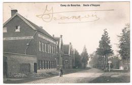 Bourg-Léopold - Route D'Heppen 1914 (2 Scan's) - Leopoldsburg