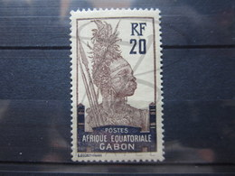 VEND TIMBRE DU GABON N° 55 , NEUF AVEC CHARNIERE !!! - Unused Stamps