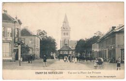 Camp De Beverloo - Vue Sur La Place Des Princes1911  (Geanimeerd) - Leopoldsburg