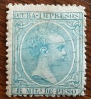 Cuba: Timbre Pour Imprimés N° 30 (YT) Oblitéré - Préphilatélie