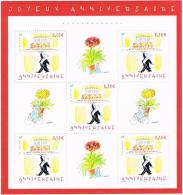 """France 2004 - BF 75 """"Anniversaire - Dessins De Sempe"""" - Blokken En Velletjes"""