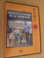 TIN718 DVD Neuf (jamais Utilisé) TINTIN HERGE LE MYSTERE DE LA TOISON D'OR LONG METRAGE ANNEES 60 - Hergé