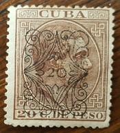 Cuba: Timbre N° 20a (YT) Neuf Sans Gomme - Cuba