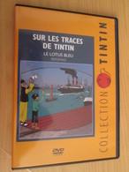 TIN718 DVD Neuf (jamais Utilisé) REPORTAGE SUR LES TRACES DE TINTIN : LE LOTUS BLEU - Hergé