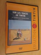 TIN718 DVD Neuf (jamais Utilisé) REPORTAGE SUR LES TRACES DE TINTIN : LE CRABE AUX PINCES D'OR - Hergé