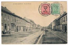 Bourg-Léopold - Rue Du Centre 1921  (Geanimeerd) - Leopoldsburg