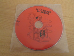 """TIN718 DVD Neuf (jamais Utilisé) DVD Rectificatif , La 1e Edition Présentant Un """"bug"""" : LES 7 BOULES DE CRISTAL - Hergé"""