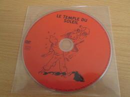 """TIN718 DVD Neuf (jamais Utilisé) DVD Rectificatif , La 1e Edition Présentant Un """"bug"""" : LE TEMPLE DU SOLEIL - Hergé"""