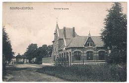 Bourg-Léopold - Vue Sur La Poste 1911 - Leopoldsburg