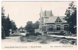 Bourg-Léopold - Camp De Beverloo - Vue Sur La Poste 19.. (Geanimeerd) - Leopoldsburg