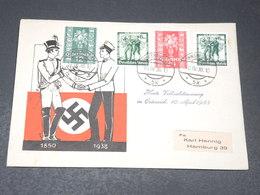 ALLEMAGNE - Enveloppe Illustrée Réunification Autriche / Allemagne En 1938 - L 20647 - Allemagne