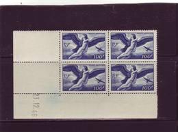 PA 18 - 100F EGINE - 1° Tirage Du 14.12.46 Au 2.1.47 - 23.12.1946 - - Coins Datés