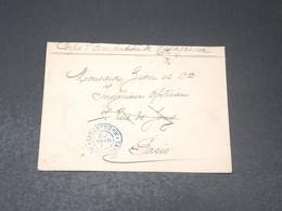 MADAGASCAR - Enveloppe En FM Du Corps D 'occupation En 1902 Pour Paris - L 20649 - Madagascar (1889-1960)