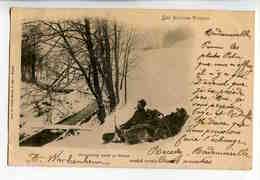 A 99  -  Les Hautes Vosges  -  Douaniers Dans La Neige - Dogana