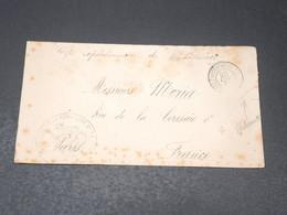MADAGASCAR - Enveloppe En FM Du Corps Expéditionnaire En 1899 Pour Paris - L 20651 - Madagascar (1889-1960)