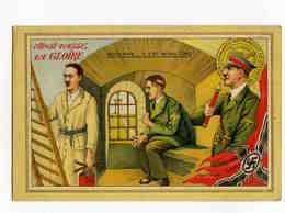 A 100  -  Ainsi Passe La Gloire  - Adolphe..... Il Est Moins Cinq ! - Cartes Postales