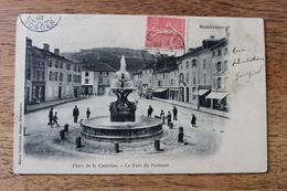 REMIREMONT (88) - PLACE DE LA COURTINE - LE FORT DU PARMONT - Remiremont