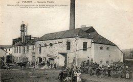 CPA - FISMES (51) - Aspect De La Sucrerie Le Jour De Livraison De La Betterave Sucrière En 1916 - Fismes