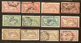 JOLI LOT 25 MERSON Oblitérés BONNE COTE ADDITIONNELLE - 1900-27 Merson