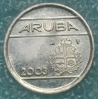 Aruba 5 Cents, 2003 - Netherland Antilles