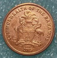 Bahamas 1 Cent, 2015 Magnetic ↓price↓ - Bahamas