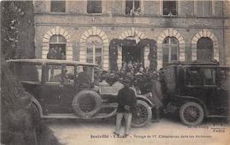¤¤  -   JUNIVILLE   -   Voyage De Mr Clémenceau Dans Les Ardennes  -  L'Ecole Des Filles   -  ¤¤ - France